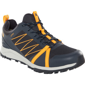 The North Face Litewave Fastpack II GTX Chaussures Homme, urban navy/zinnia orange